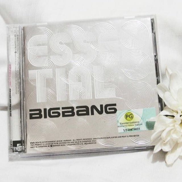 BIGBANG ESSENTIALS. (CD)