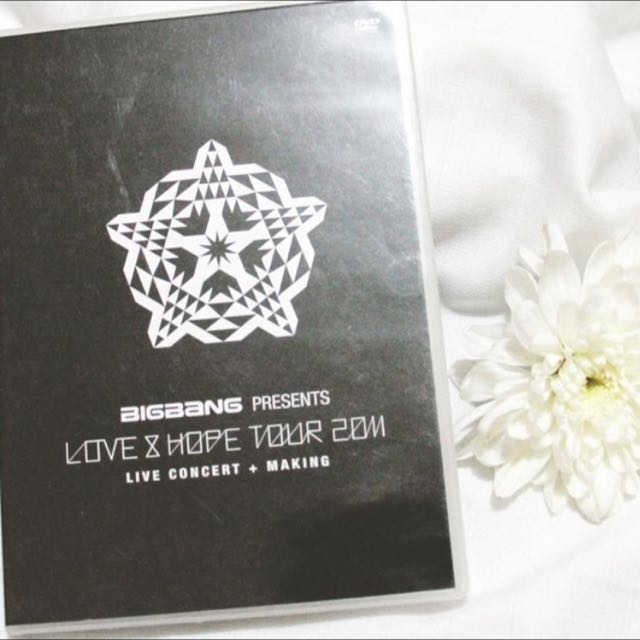 BIGBANG Love and Hope Tour 2011. (DVD)