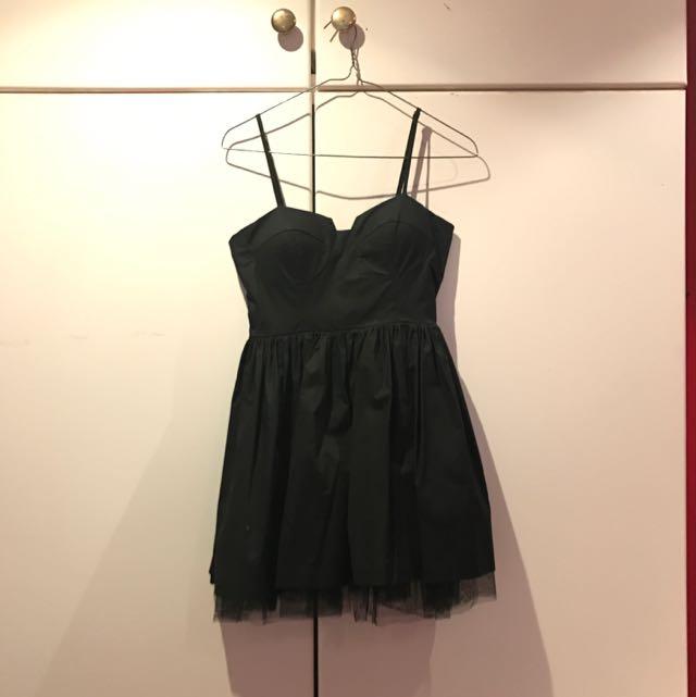 Black Ballerina Style Dress