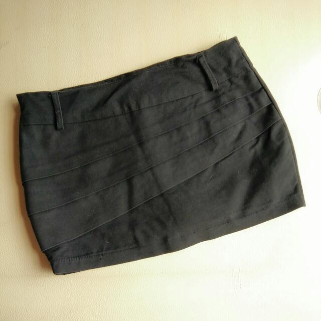 Black Formal Skort