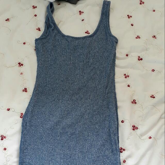 Blue Mid Dress