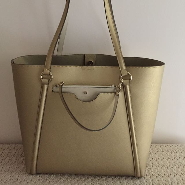 BNWT Mimco Gold Phenomena Tote