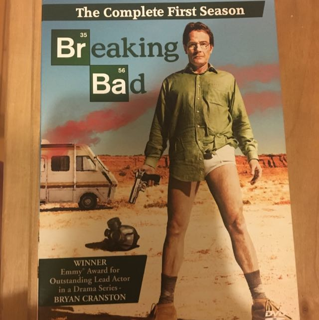 Breaking Bad Collection_ Complete 1-4 Seasons And The 5th Season