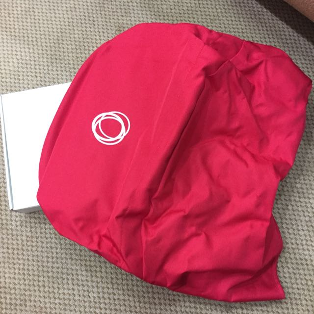 Bugaboo Bee + Canopy Red