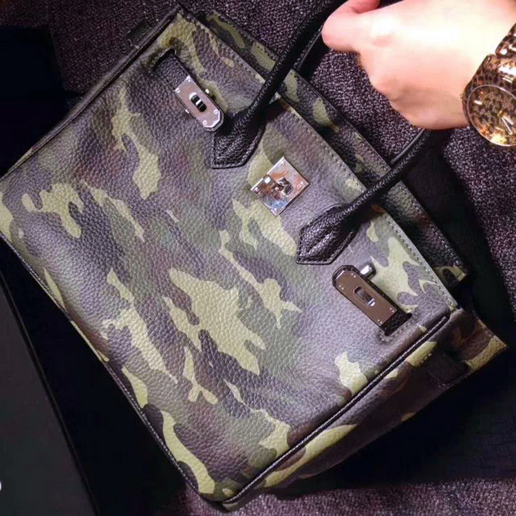 Camo Mini Satchel Bag