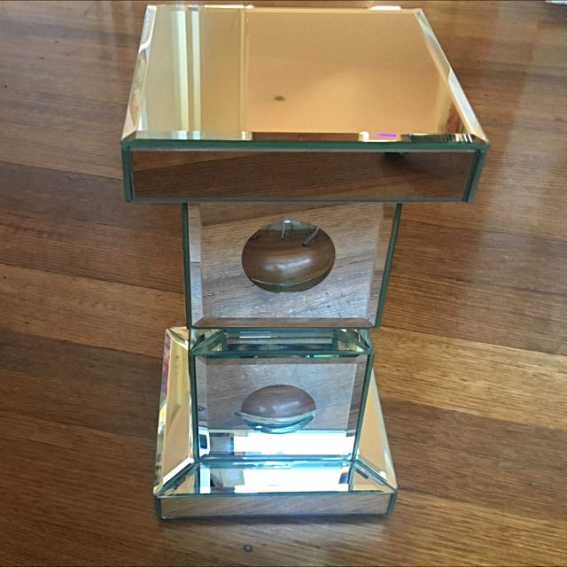Candle Holder Stand Mirror