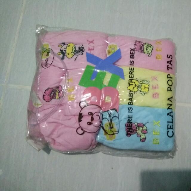 Celana Pop Bayi 12pcs