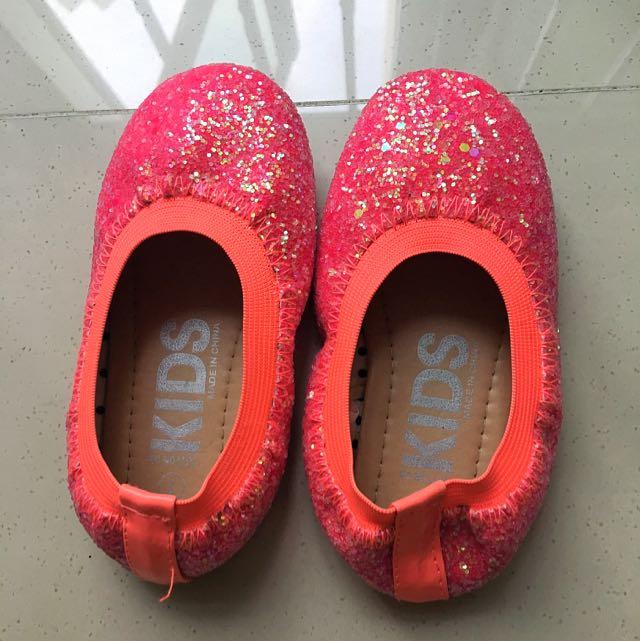 Tesco Red Girls Shoes