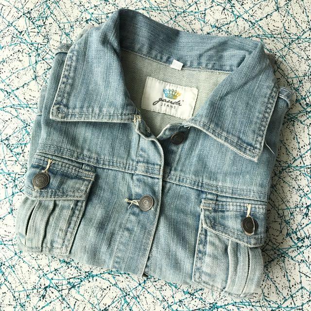 Cropped Denim Jacket by Gaudi