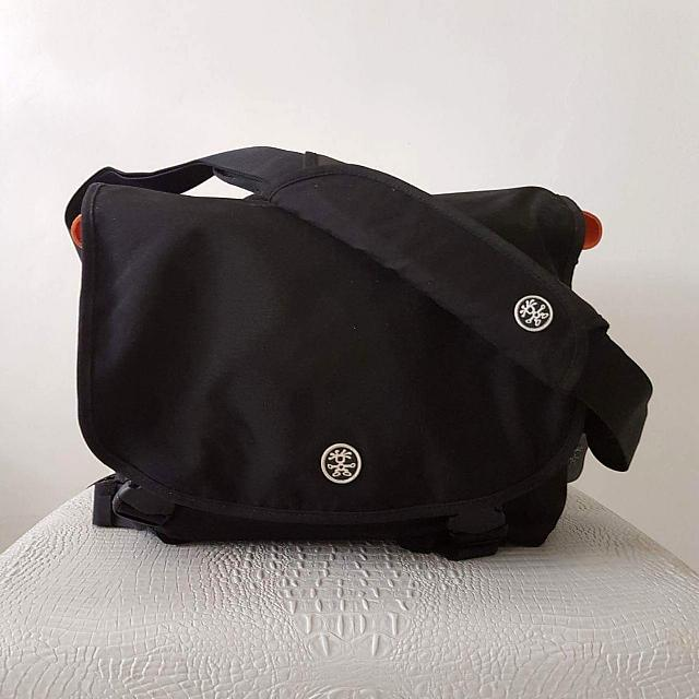 Crumpler Camera and Laptop Bag