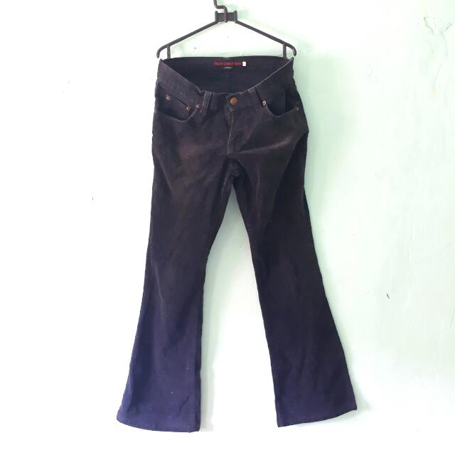 Cutbray Black Jeans