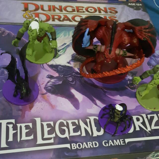 D&d Legend Of Drizzt Board Game