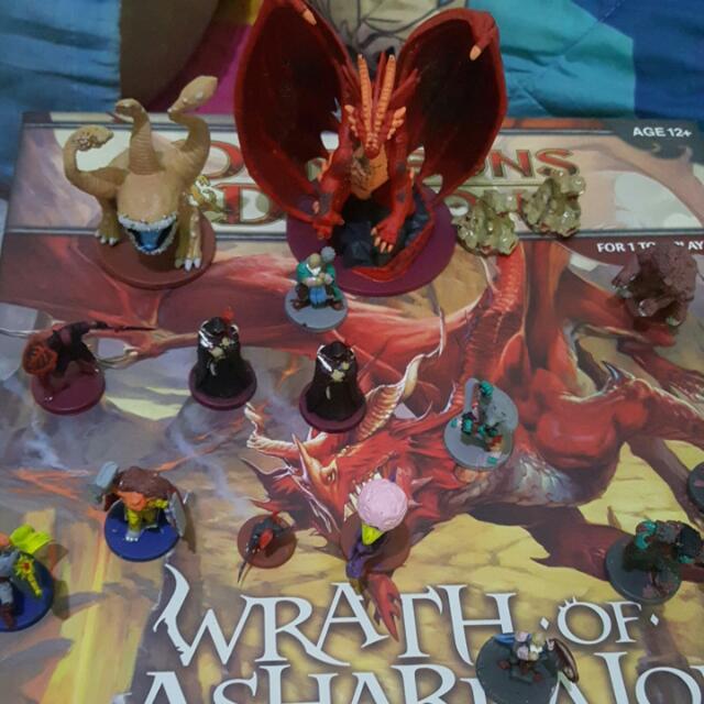 D&d Wrath Of Ashardalon Board Game