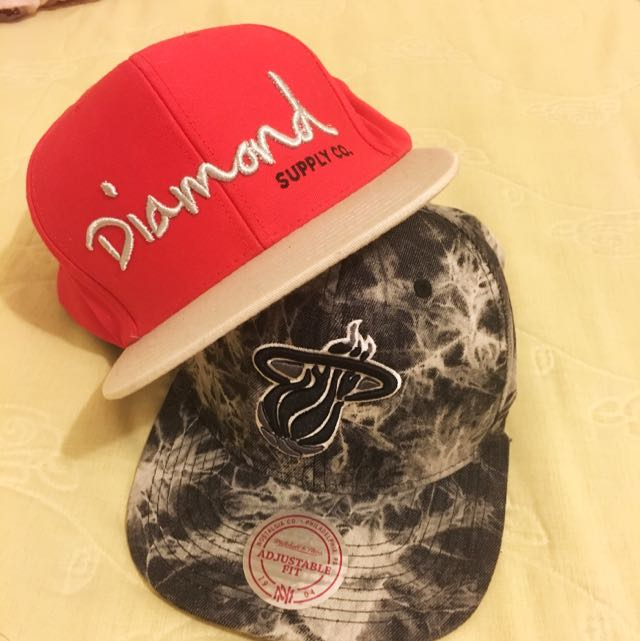 DIAMOND SUPPLY CO / MITCHELL AND NESS SNAPBACK