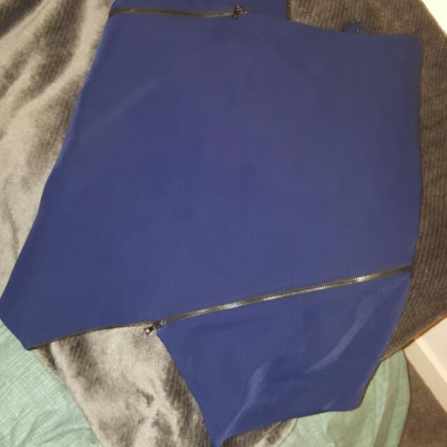 Dion Lee Asymmetrical Skirt - Size 8