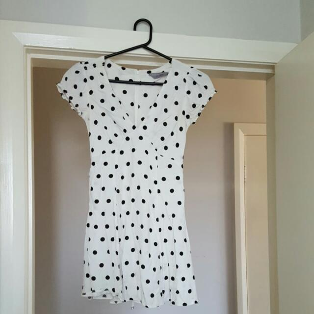 Dorothy Perkins Black And White Dress