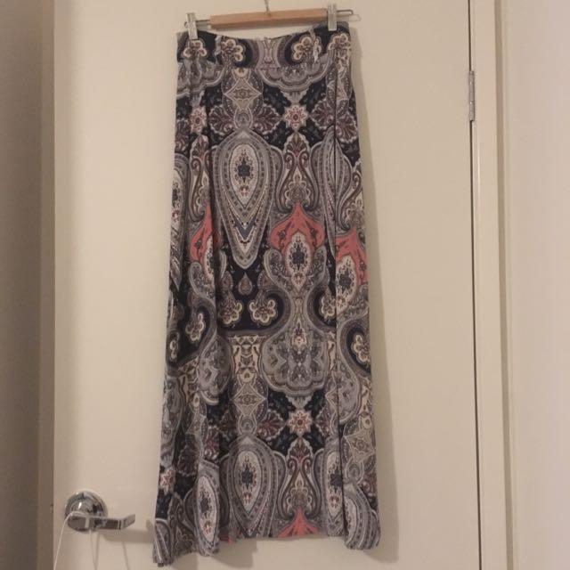 Dotti Maxi Skirt Size 8