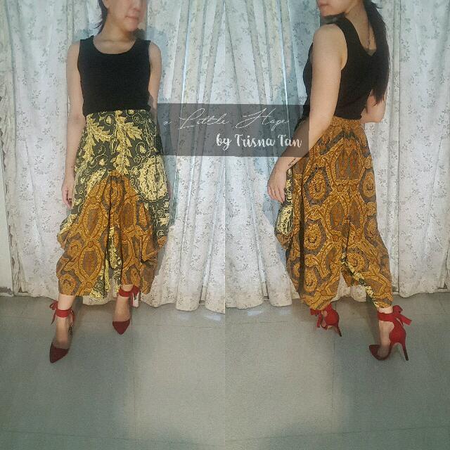 Drupadi Jasmine Pants Batik Lawasan