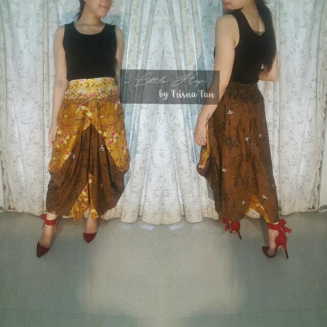 Drupadi Jasmine Pants Batik Print