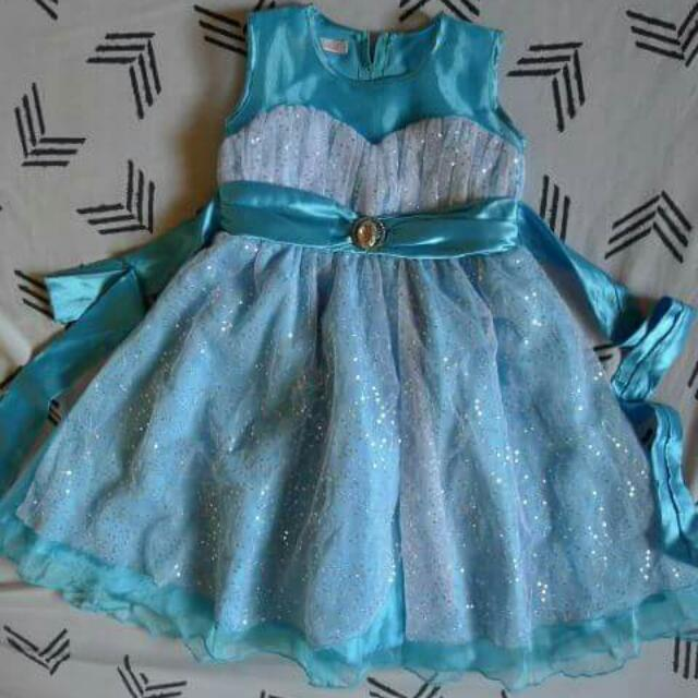 Sparkly Blue Dress for 6T