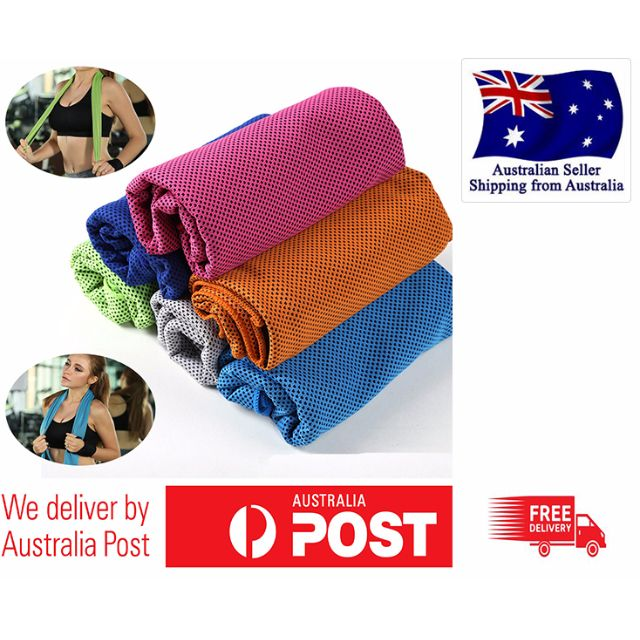 Fast Cooling Towel ICE Cold Golf Cycling Jogging Gym Sports Outdoor TOWEL