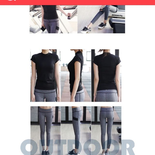 Fitness Stretchable Top