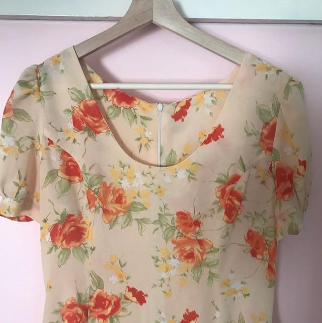 Floral Summer Dress S10