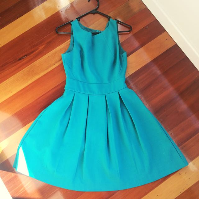 Glassons Teal Dress