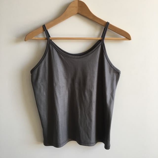 Grey Tank Top Fit Size 10