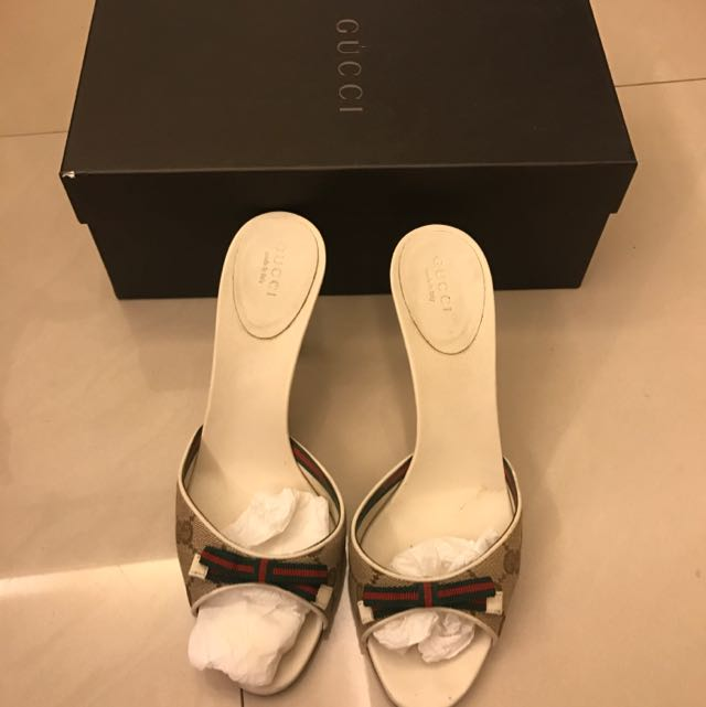 Gucci 矮跟涼鞋