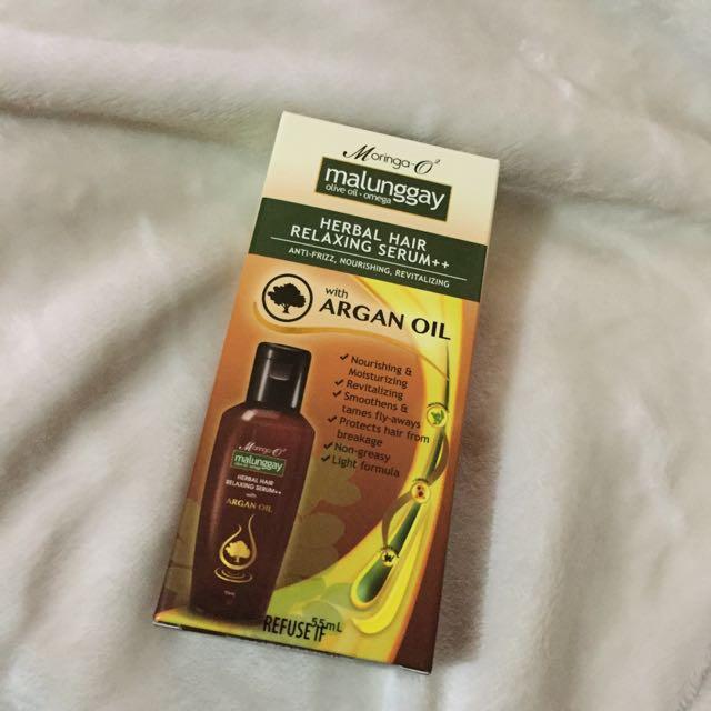 Hair Serum ++ With Argan Oil