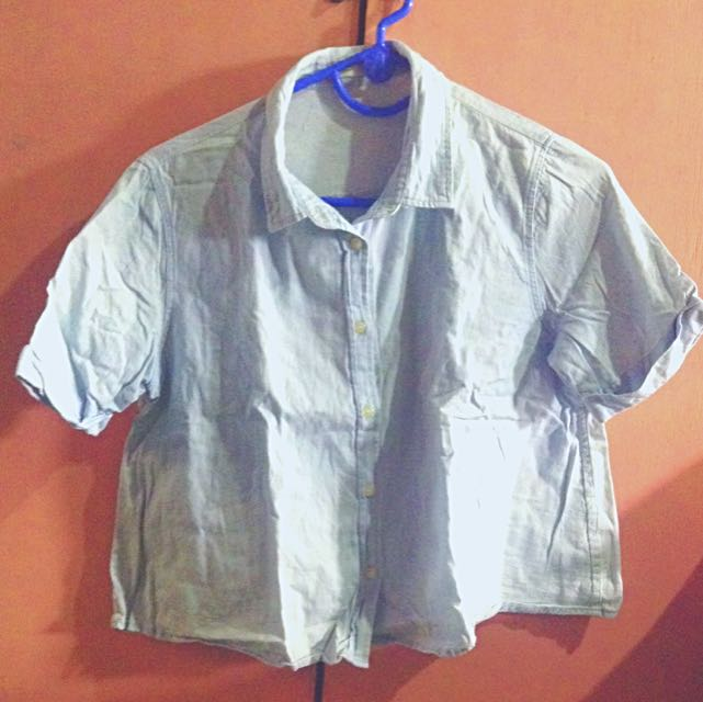 Hanging Blouse Polo Style