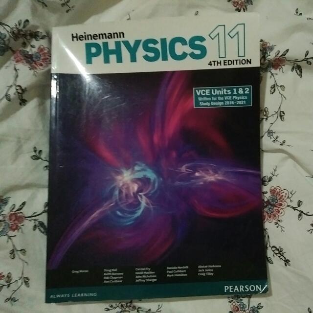 Heinemann Physics 11 Texbook