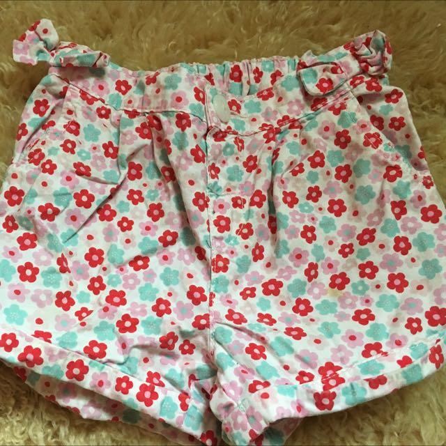 HM日本買買回女童短褲