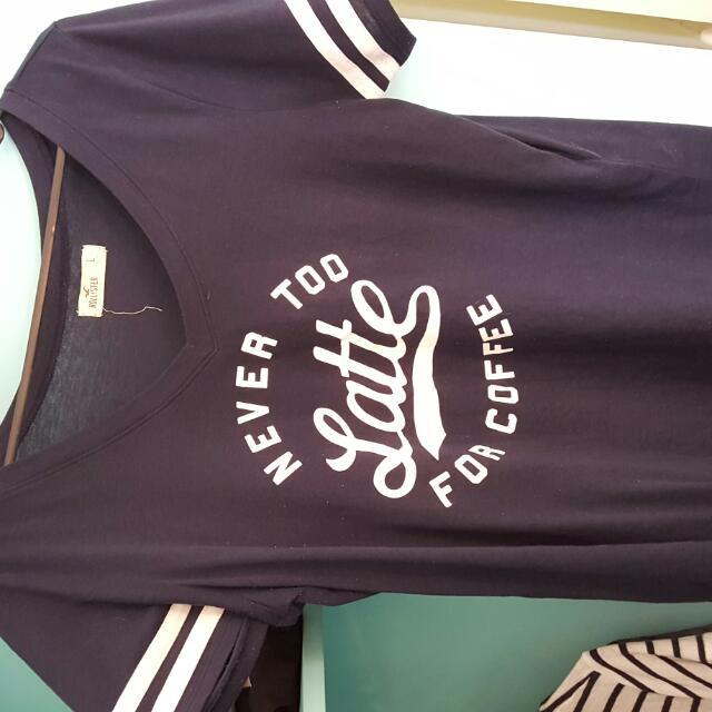 Hollister Shirt Size L Size 10-12