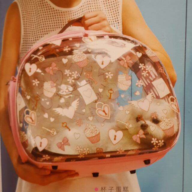 ibiyaya  獨家專利透明設計寵物提包