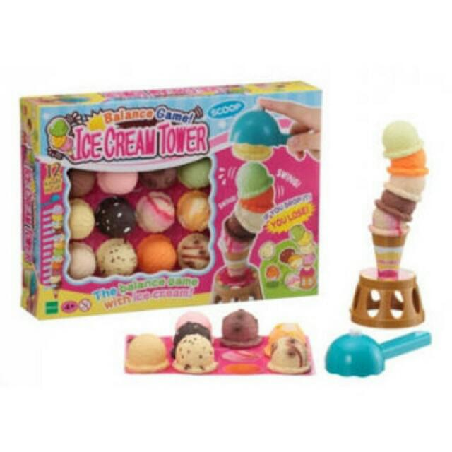 ICE CREAM TOWER- FAMILY BONDING TOYS