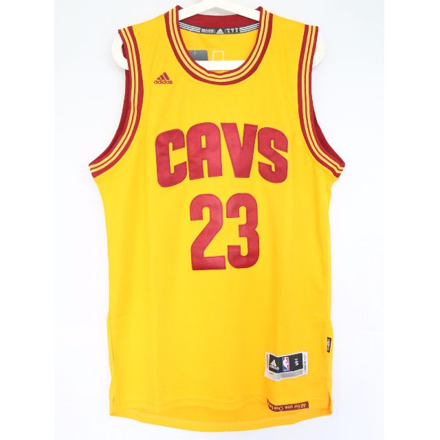 ca82835bff5 NBA Swingman Jersey LeBron James Cleveland Cavaliers  23 Yellow Away ...