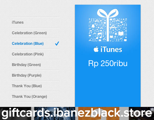 iTunes Gift Card indonesia 250ribu, Tickets & Vouchers, Gift Cards & Vouchers on Carousell