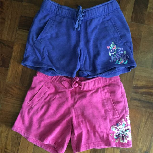 Justice Shorts Size 8