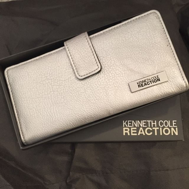 Kenneth Cole Silver Wallet