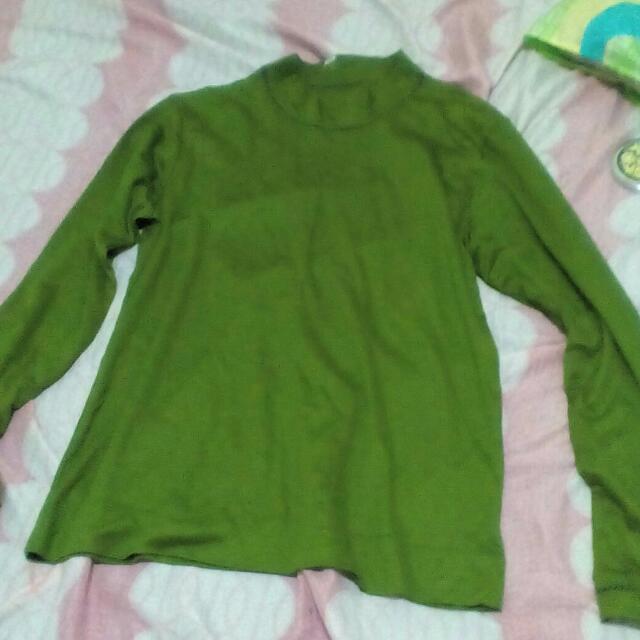 Korean Pre-loved Long Sleeve Blouse