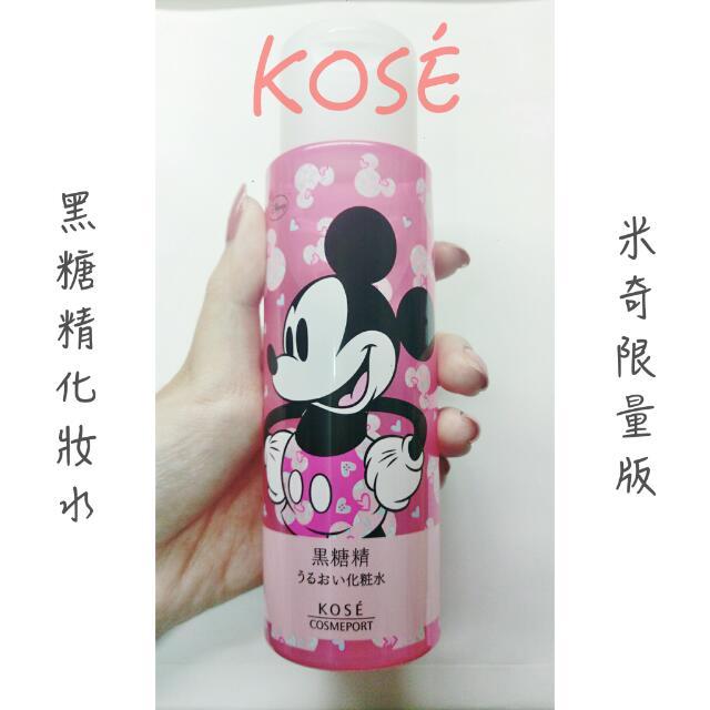 KOSÉ 黑糖精化妝水(米奇限量版)180ml