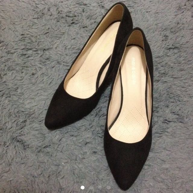 Marie Claire's Pointed Black Shoes Size 41 BNIB