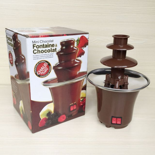 *MOVING OUT SALE* Mini 3-Tier Chocolate Fondue Fountain
