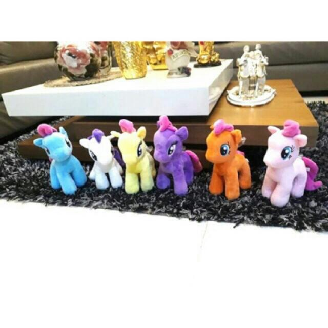 MY LITTLE PONY PLUSH STUFF TOY SET