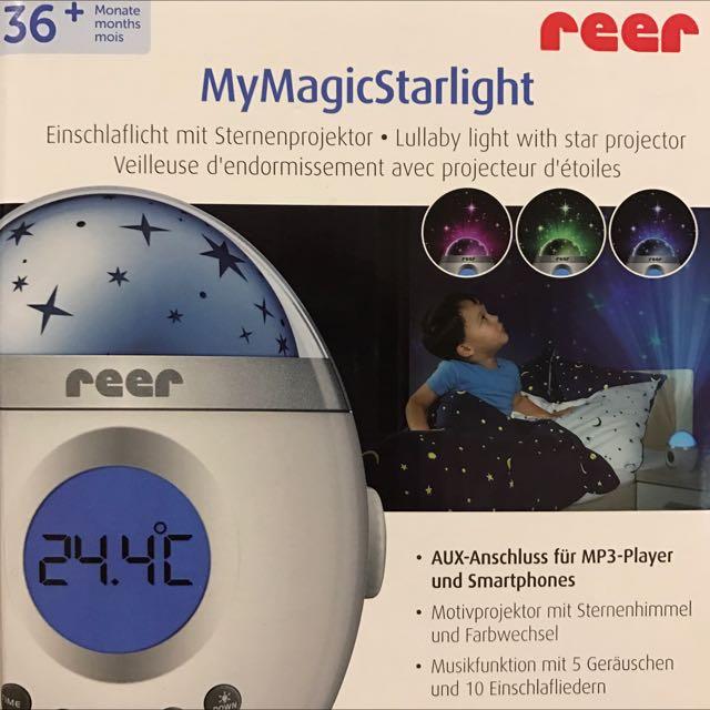 Reer My Magic Starlight Einschlaflicht Projektor NEU