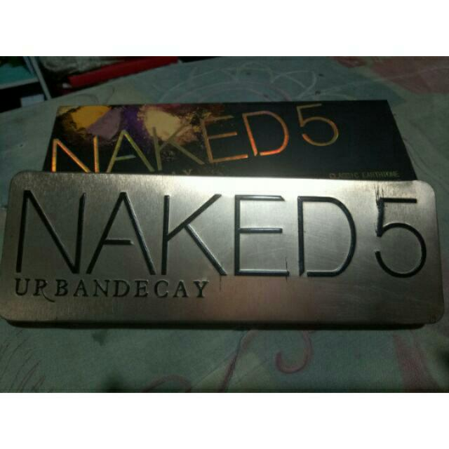 Naked 5 Urban Decay (not Ory)