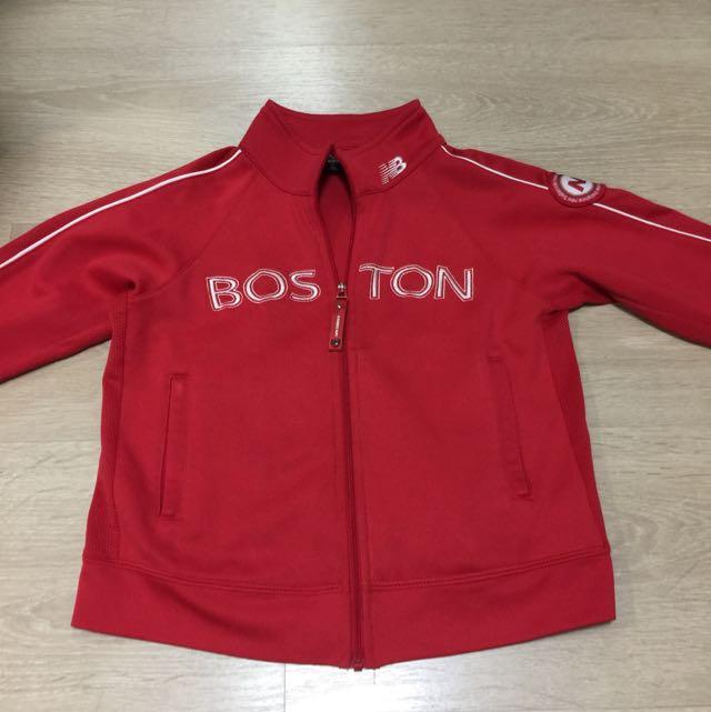 New Balance紅色兒的童運動外套(120cm)
