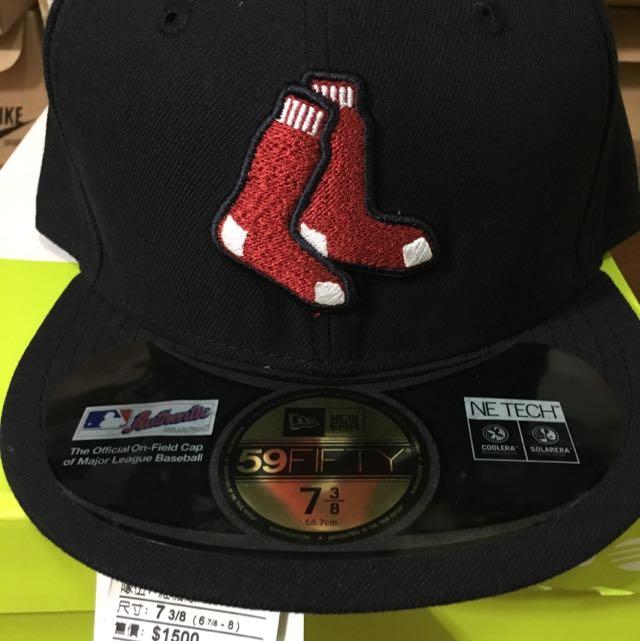 New Era 大聯盟波士頓紅襪隊客場球帽